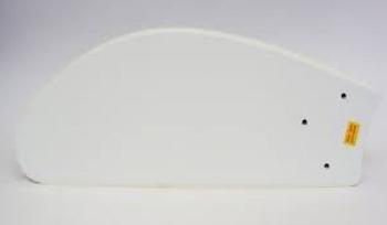 Pá Hélice do Ventilador de Teto Loren Sid - Motor M3 - Modelo Tuba Plastica Branca - P07I/BR - PASLS