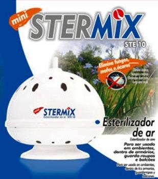 Esterilizador De Ar Stermix Mini STE-10 - Branco 220Volts - p/Até 7m2 - Ste 10 220v Branco - Stermix