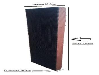 Colmeia para Climatizador - Espessura 20cm x L60 x C180cm - Painel Evaporativo para Climatizador Rotoplast - Mega Brisa