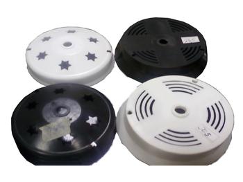 Plafon Base para Globo Pêra - Suporte do Soquete da Luminária Ventilador de Teto Globo Cúpula Pera P