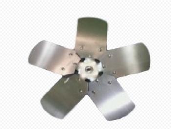 Helice para Exaustor Loren Sid 40cm 5Pas c/bucha p/Eixo 10mm HELEXALSD