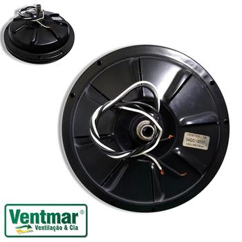 Motor para Ventilador VENTI-DELTA - Modelo Plus Light 03Pás 127v10,0uF - Cor Preto - Uso Com Luminária