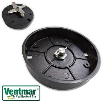 Base do Copo Liquidificador Vitalex Industrial de 04/06/08/10 Litros - Triturador do Liquidificador