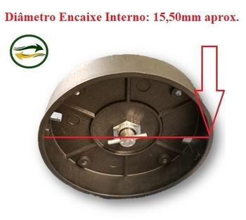 Base do Copo Triturador do Liquidificador Vitalex Industrial de 04/06/08/10 Litros Baixa Rotação Com Conjunto de Eixo e Lâminas