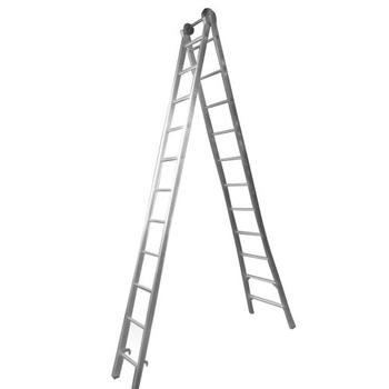 Escada de Alumínio 11 Degraus Profissional 4 em 1 SBA