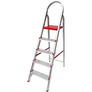 Escada de Alumínio 05 Degraus Doméstica Prima
