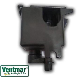 Caixa de Engrenagem Ventilador ARGE A-14 / A14 50/60cm - Caixa Menor Atual - SEM Pino Puxador - Sem Rosca sem Fim