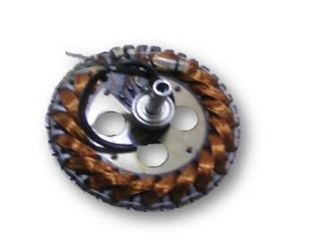 Estator Ventilador de Teto EFYX HUB 127V c/02-Rolamentos 6201zz - Usar c/Capacitor 09,0uF - Estator