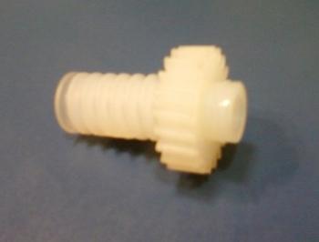 Engrenagem COM Rosca Sem Fim do Ventilador Oscilante VENTI DELTA 50/60cm - ENGRENAGEMCOMROSCA