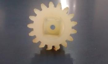 Engrenagem Haste Lisa do Ventilador Oscilante VENTI DELTA 50/60cm