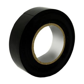 Fita Isolante 19mmx20M Preta- Largura: 19mm - Comprimento: 20 Metros - Fita Isolante Pratik 19mm x 20m Preta SM