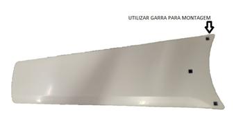 Pá Hélice para Ventilador de Teto Aliseu AlisClean Branca - UTILIZA SUPORTE Garra de Metal p/Fixar n