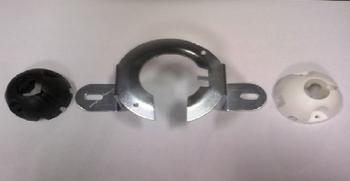 Suporte para Ventilador de Teto Volare - Suporte de Fixação para ventilador Volare - Suporte de  Metal Kit c/Peças de Montagem