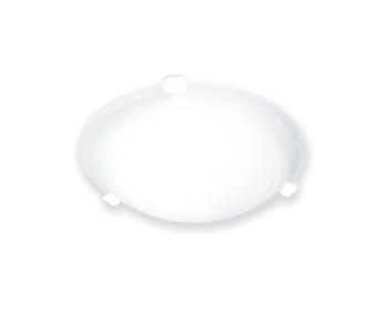 Luminária para Ventilador de Teto -  Modelo Monte Carlo - Suporte Base Branca - Luminária Ventilador