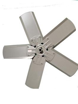 Hélice para Exaustor VENTISOL 50cm 5Pás - Encaixe Eixo 12 mm com Parafuso Lateral - HEL50 HELVTS HEL