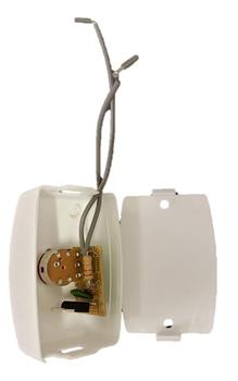 Chave para Ventilador Ventisol de Parede - Branca - Controle de Velocidade com Dimer Rotativo 200w c/Off Bivolts