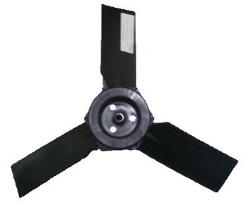 Helice para Climatizador AG Ebone FOG I/II/III FOG1 FOG2 FOG3 - 3Pas Fibra c/Centro de Metal 40cm - Encaixe 10,0mm - Giro Sentido-Anti-Horário