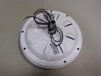 Motor do Ventilador de Teto VENTI-DELTA - Modelo New Light 03Pás 127v - Cor Branco - para Uso com Lu