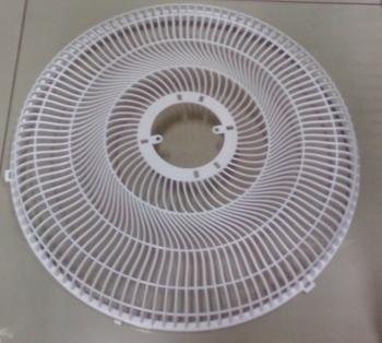 Grade para Ventilador Venti-Delta New Light 50cm - Grade Plástica Branca - Ventilador Coluna/Mesa ou Parede - Serve p/Dianteira ou Traseira - Vendida