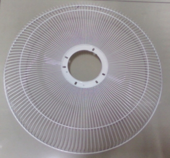 Grade do Ventilador VENTI DELTA 50cm Premium/Gold Metal Branca GRADEDTA