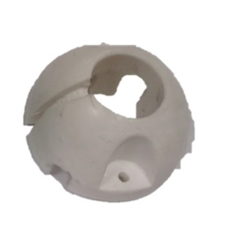 Rótula de Nylon Superior do Suporte para Ventilador de Teto VOLARE - Apenas a Rótula Plástica