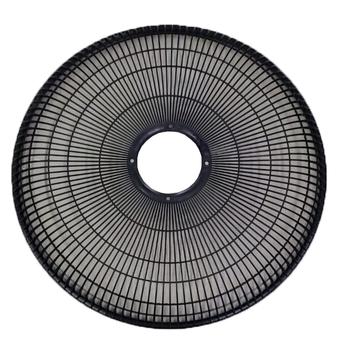 Grade para Ventilador ARGE 50cm Stylo Twister Plástica Preta - p/Ventilador Coluna/Mesa/Parede - Serve p/Dianteira ou Traseira - Vendida p/Unidade