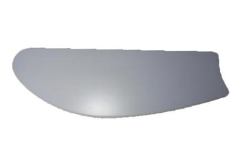 Pá Hélice para Ventilador de Teto - MDF Branca - Modelo Tubarão - Sem Furos - Serve p/Qualquer Venti