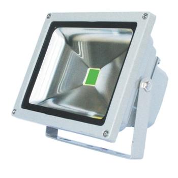 Luminária Projetor de LED Montalto C.O.B 20W - Luz Verde Bivolt