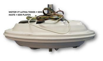 Motor para Ventilador de Teto Latina Air Control Lumen VT633 VT673 220v130w 03,0uF - Sem Haste Sem Plafon * Apenas o Motor Fechado