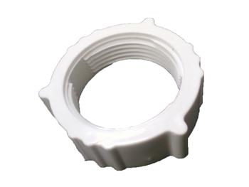 Porca do Anel Frontal da Grade do Ventilador VENTISOL 50/60cm MX Branca - Porca Plástica Diâmetro Interno da Rosca 4,20cm