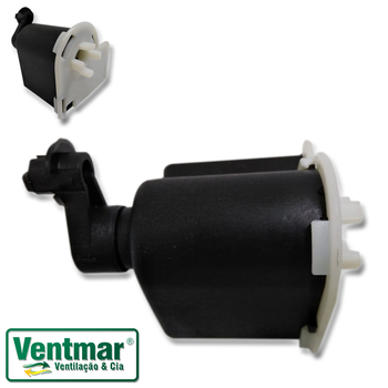 Caixa de Engrenagem Ventilador TRON Atual 50/60cm - Sem Pino Puxador Manípulo do Oscilante cód. 0786