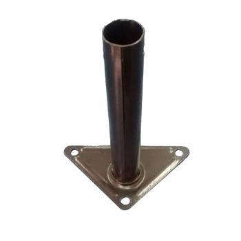 Suporte para Ventilador TRON Atual de Parede - Suporte de Parede Metal para Ventilador TRON - Cor Preta