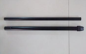 Coluna do Ventilador Oscilante TRON Preto (Kit 02 Peças)