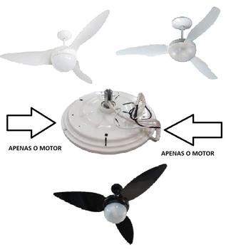 Motor do Ventilador de Teto Aliseu Terral 2 127v 07,0uF 90w - Aliseu Geo - Aliseu Normal - Voltagem