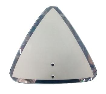 Globo Cúpula Vidro da Luminária Arizona com Borda Cristal 230x4mm - Vendido p/Unidade