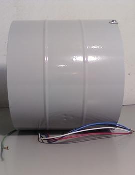 Exaustor Venti-Delta 20cm Bivolts Cinza - Vazão 180m3/h Baixa Rotação - Exaustor de Ambientes - SEM CHAVE - OCP(0018)