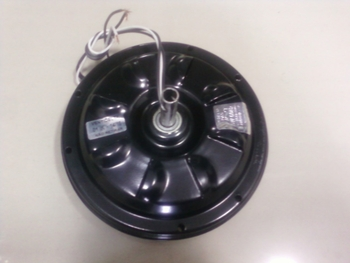 Motor do Ventilador de Teto VENTI-DELTA - Modelo New Light 03Pás 127v - Cor Preto - para Uso com Lum