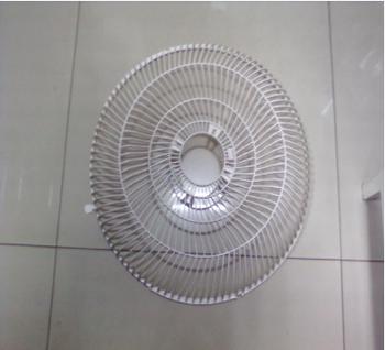 Grade do Ventilador VENTI DELTA 50cm Premium Plástica Branca - GRADEDTA
