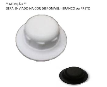 Porca da Hélice Ventilador Ventisol Modelo MX-1674 Eixo 08,0mm Todos - Porca Plastica Branca c/Rosca