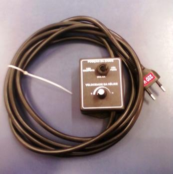 Chave para Climatizador Climattize - Comando do Climatizador Climattize FIX GIRO 220V com chicote CV
