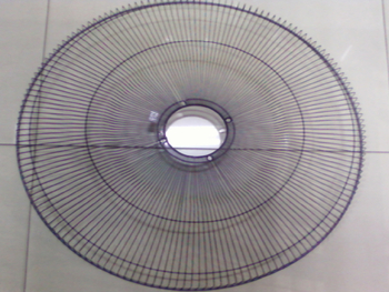 Grade do climatizador Climattize 65 cm preto traseira - GRADECTZ