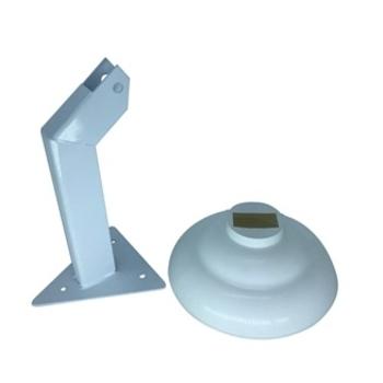 Suporte para Ventilador de Parede Ventisilva 65cm - Metal Branco com Canopla Plástica