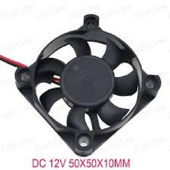 Exaustor Microventilador 05cm 12Volts - Evercooler 50X50X10mm M05DC12V 30M3H - Cooler Evercooler 12v - EXA05