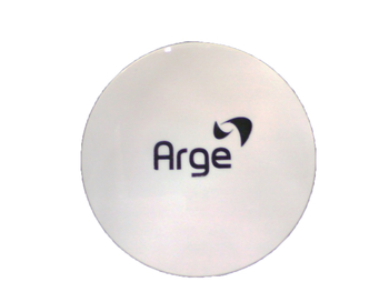 Emblema da grade do Ventilador ARGE Branco