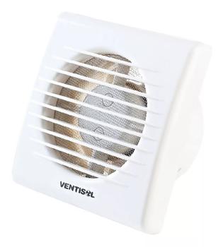 Exaustor de 10cm Ventisol EXB100 220V10W MX Premium Vazão 75m3h P/até 06m2 - Microventilador Exaustor 100mm para Banheiro/Ambientes
