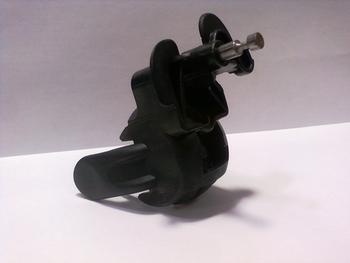 Mecanismo do Oscilante - Suporte do Motor do Ventilador ARNO 30cm - Modelos SF30 - ST30 - Preto