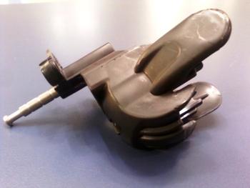 Mecanismo do Oscilante - Suporte do Motor do Ventilador ARNO 40cm - Modelo SF40 - Preto