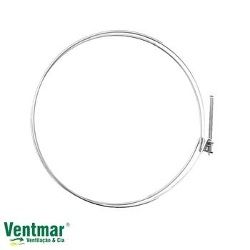 Abraçadeira de Pressão para Fixação de Dutos Flexiveis Diâmetro 150mm - 15cm - Ventokit - Unidade
