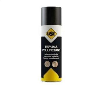 Espuma Expansiva de Poliuretano - Spray 500ml/340g - Espuma Poliuretano USE