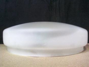 Globo Cúpula Vidro da Luminária do Ventilador ARNO Ultimate VX-10 (Gola 202mm) VIDROARNO